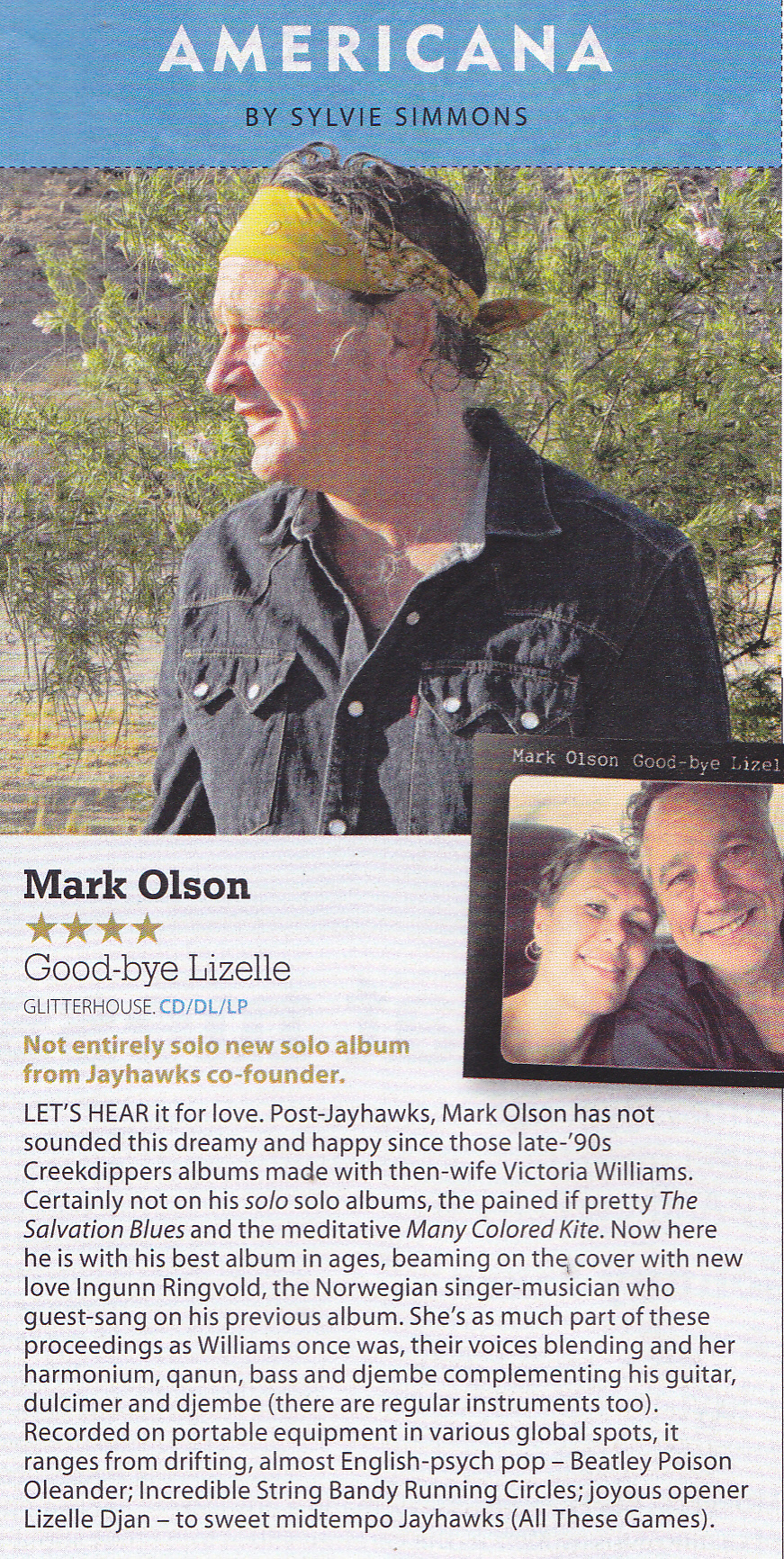 Mark Olson MOJO review